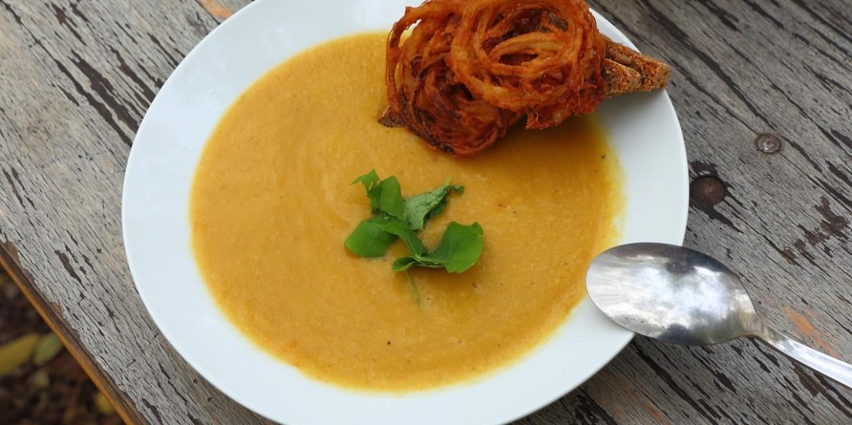 pomysł na wegańską zupę