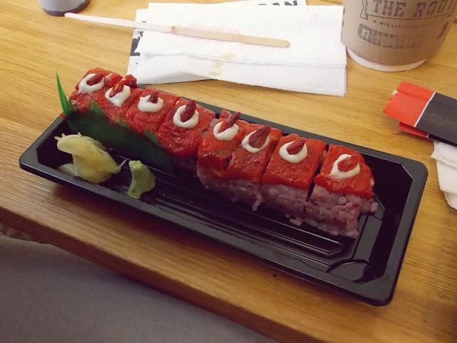 sushi roślinne