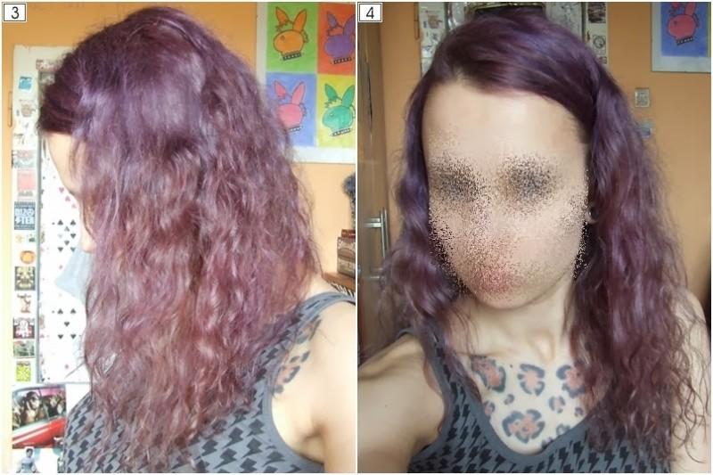 farbowanie włosów gencjaną
