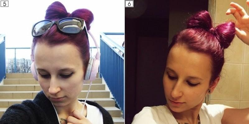 fioletowy kolor włosów
