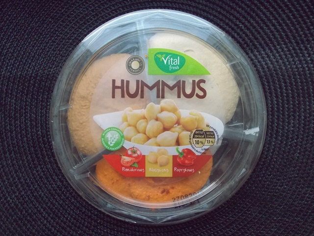 hummus z Biedronki
