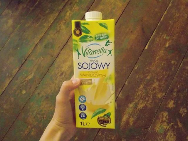 mleko sojowe waniliowe z Biedronki
