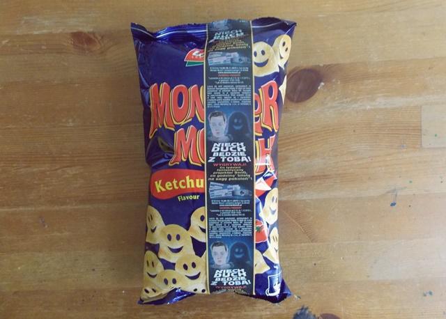 czipsy wegańskie monster munch