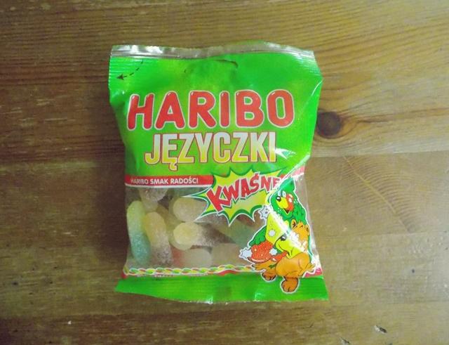haribo żelki kwaśne języczki wegańskie