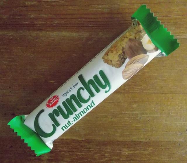 baton musli wegański crunchy