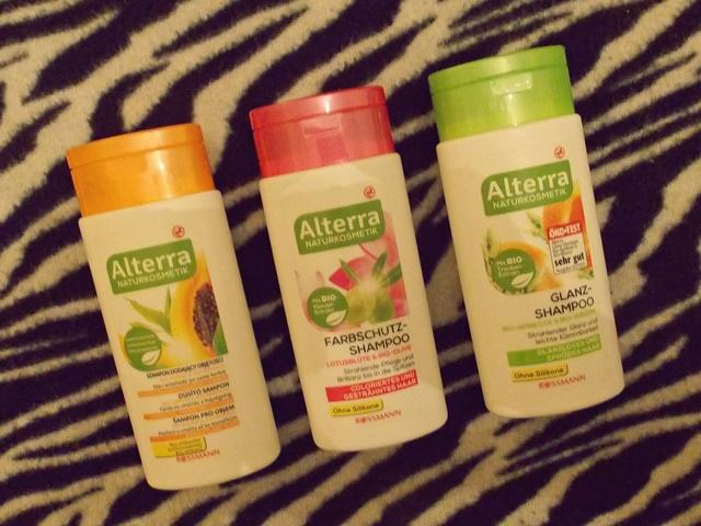 wegańskie szampony Alterra