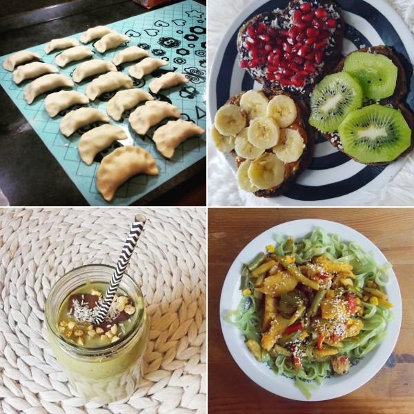 co jedzą weganie? roślinne jedzenie