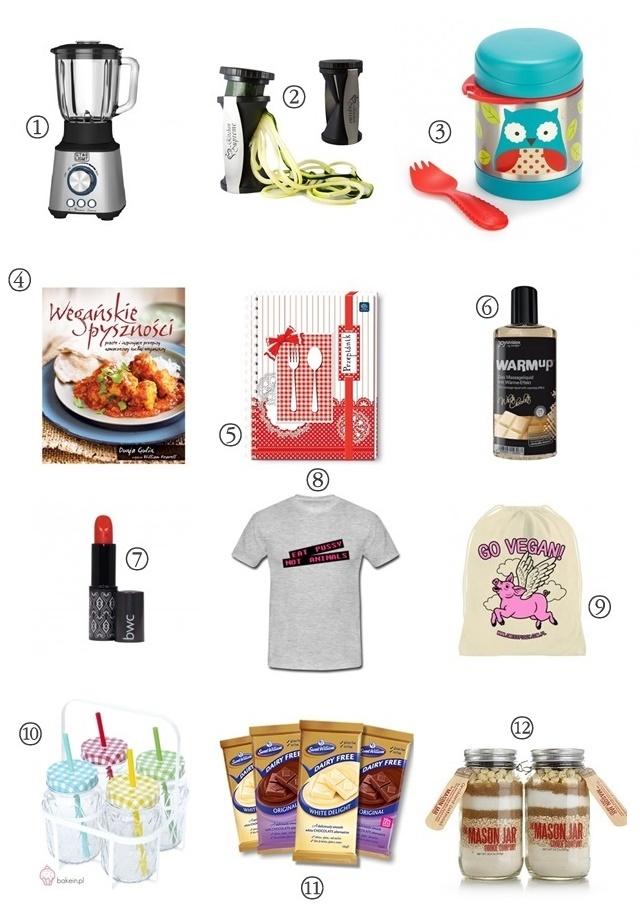prezenty dla weganina i weganki