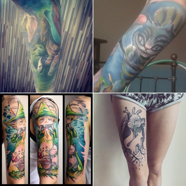 mortycja tatuaże