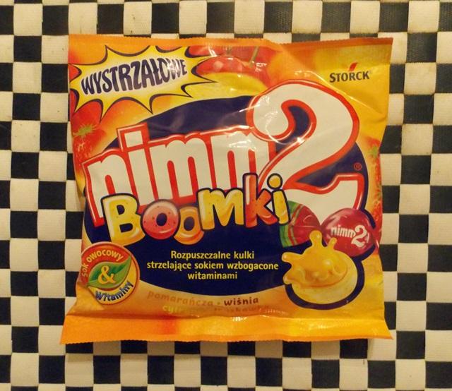wegańskie cukierki nimm2 boomki wystrzałowe