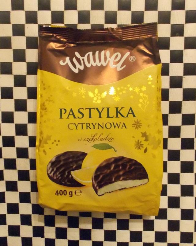 wegańskie pastylki cytrynowe w czekoladzie wawel