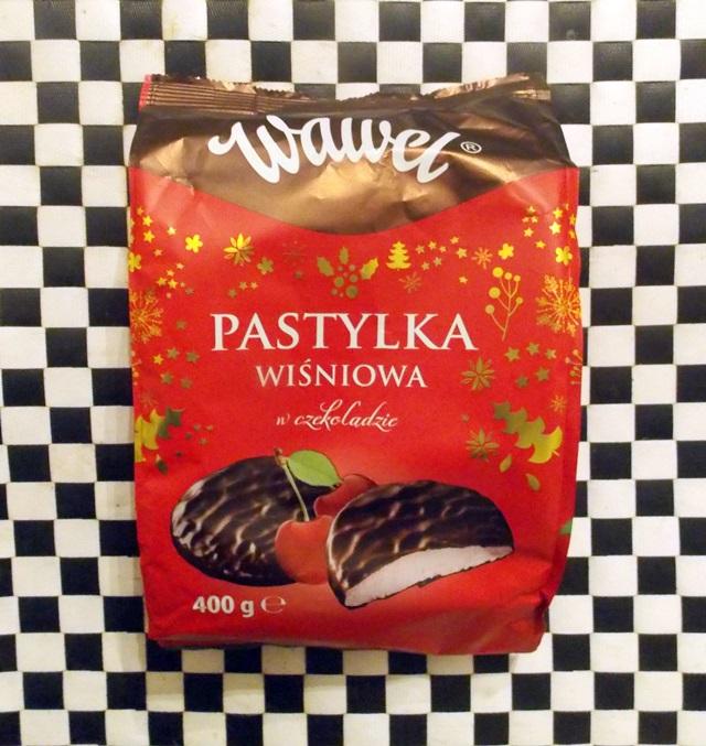 wegańskie pastylki wiśniowe w czekoladzie wawel