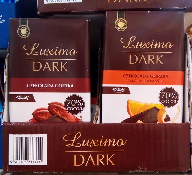 wegańska czekolada w Biedronce