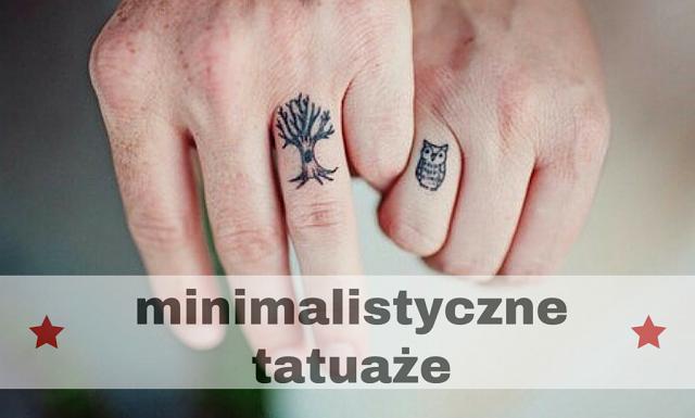 Minimalistyczne Tatuaże Aśka Rzeźnik Wcześniej Mortycjacom