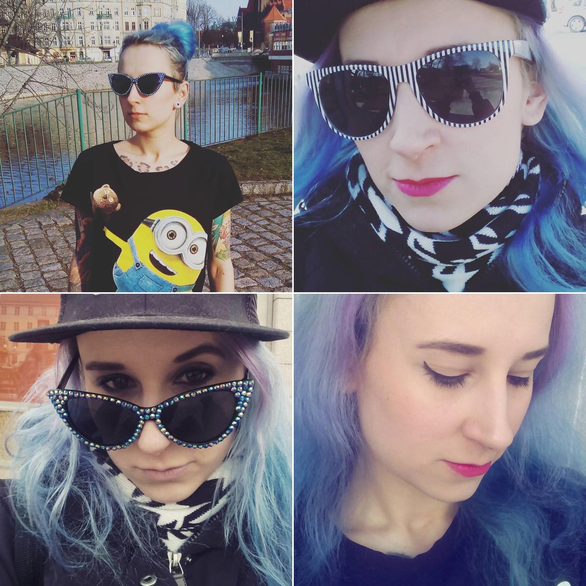 niebieskie włosy - mortycja