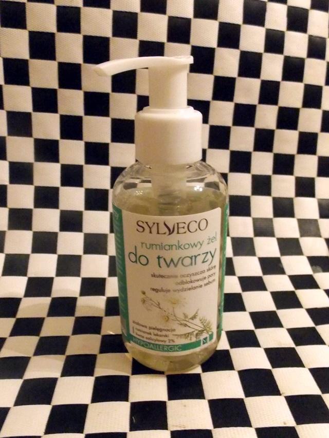wegański żel do mycia twarzy sylveco