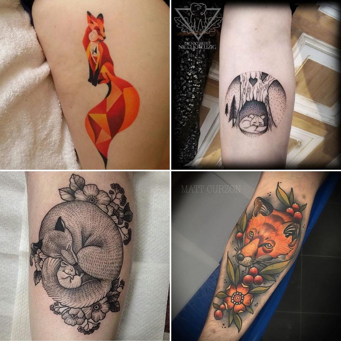 Co Znaczą Tatuaże Tatuaże Z Lisami Aśka Rzeźnik