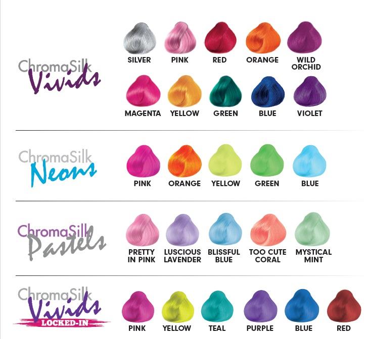 wegańskie różowe farby do włosów pravana