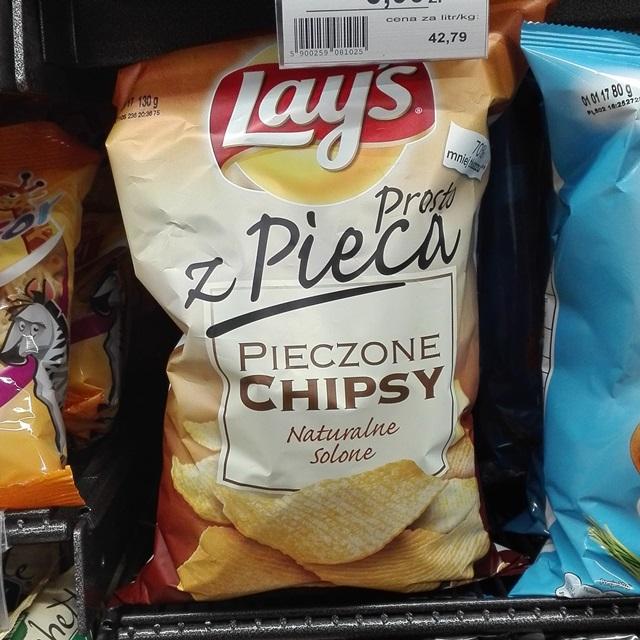 LAYS Z PIECA WEGAŃSKIE CHIPSY