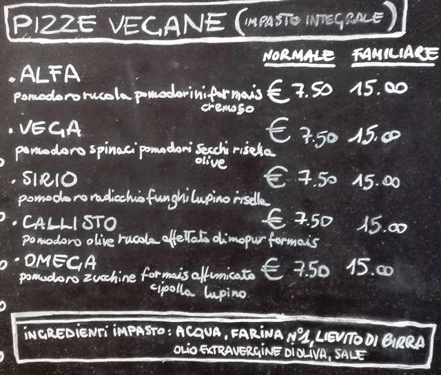 L'Angelo, wegańska pizza w Wenecji