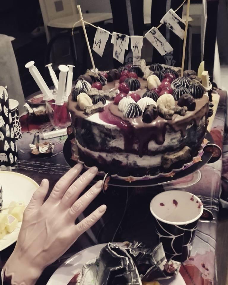 wegański tort