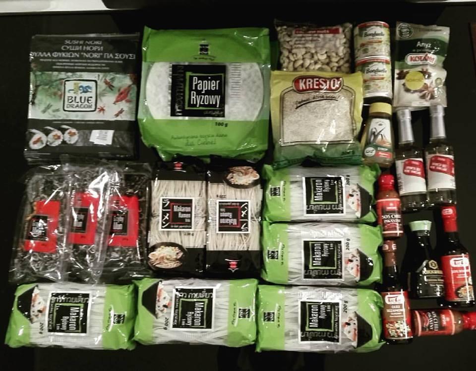 kuchnia azjatycka - zakupy