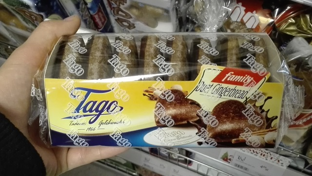 pierniki Tago wegańskie