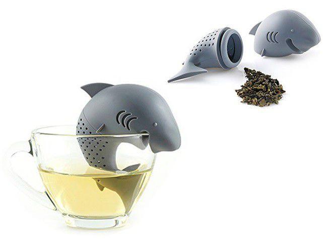 pomysł na prezent - zaparzacz rekin do herbaty