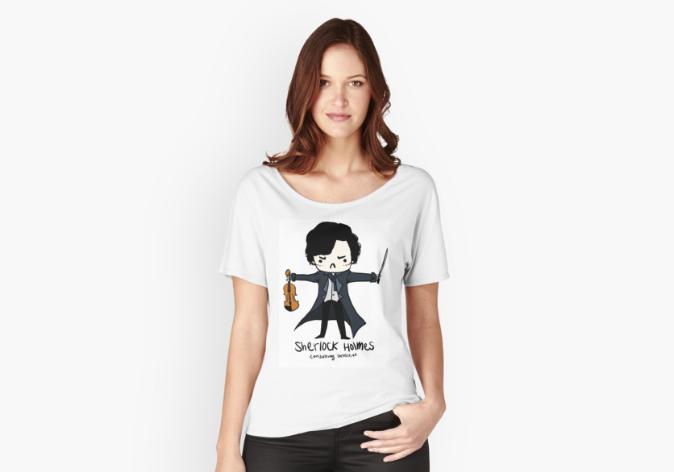 koszulka z Sherlockiem