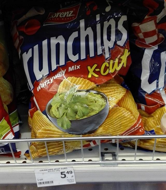 wegańskie crunchips