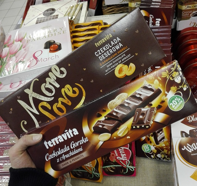 wegańska czekolada