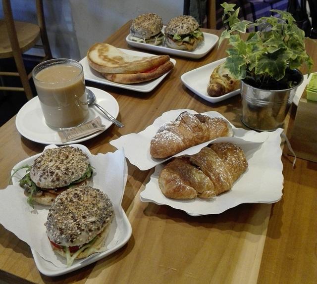 wegańskie śniadanie, Rzym