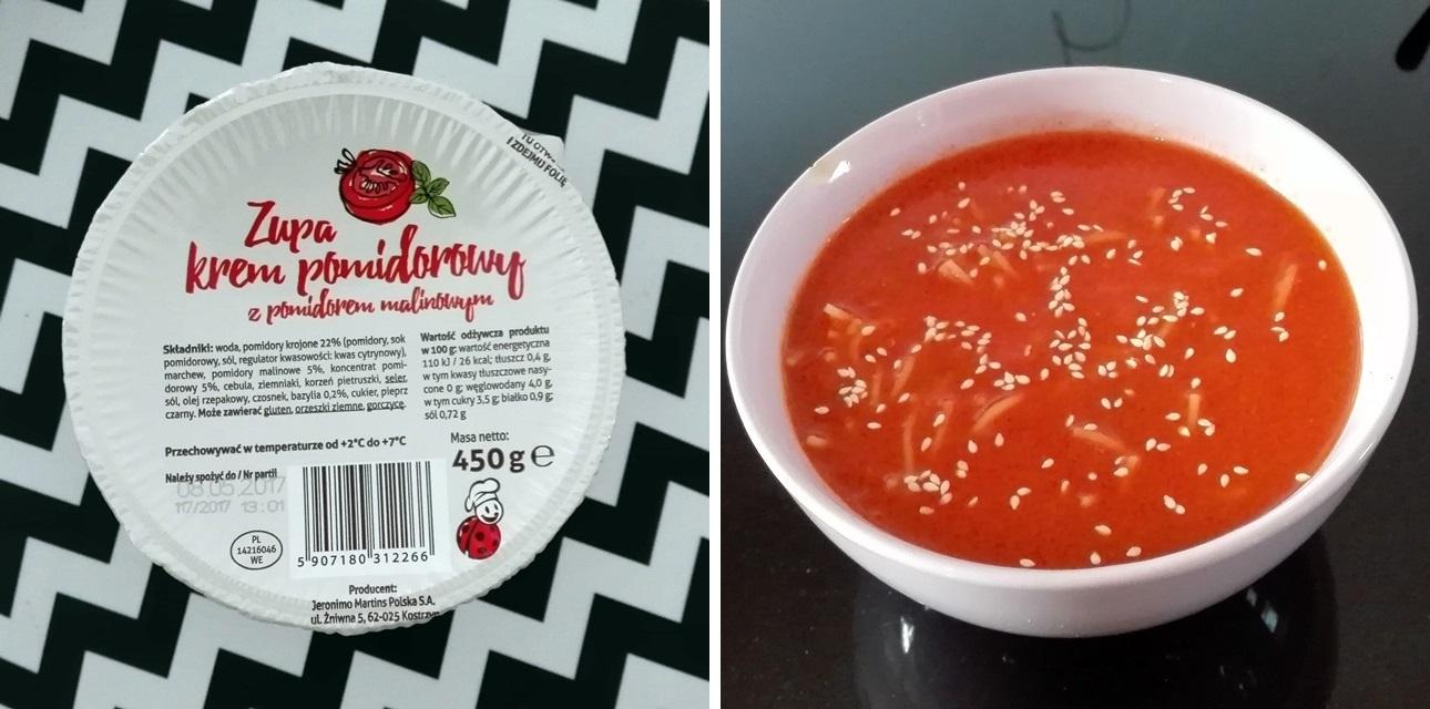 wegańska zupa pomidorowa - gdzie kupić?