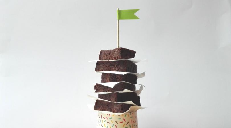 wegańskie brownie z cukinii - przepis