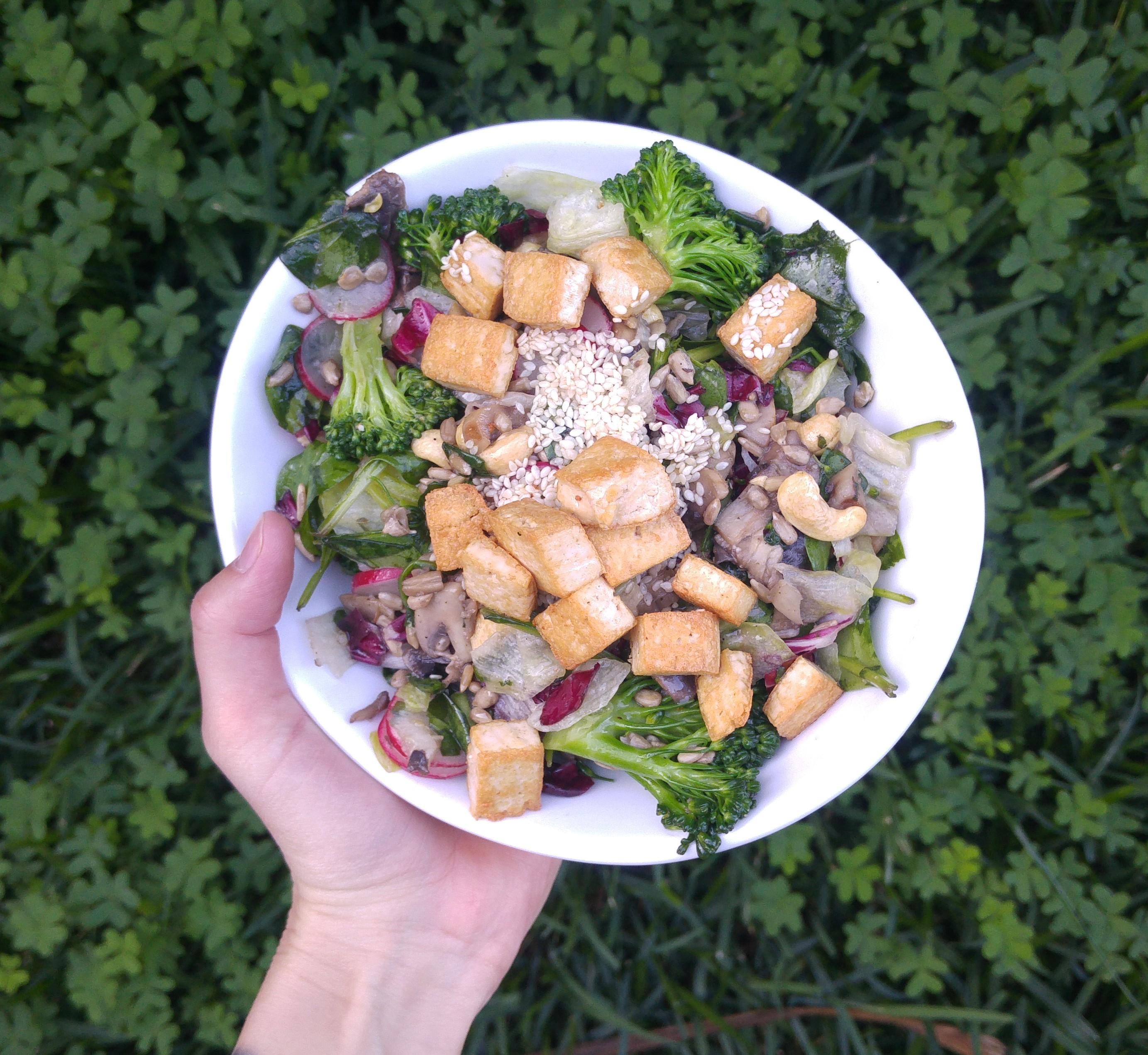 keto weganizm - przepisy - obiad