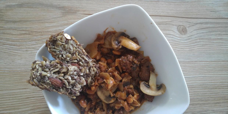 wege bigos bez mięsa - przepis
