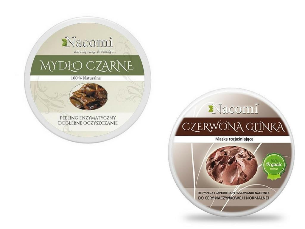wegańskie produkty Nacomi