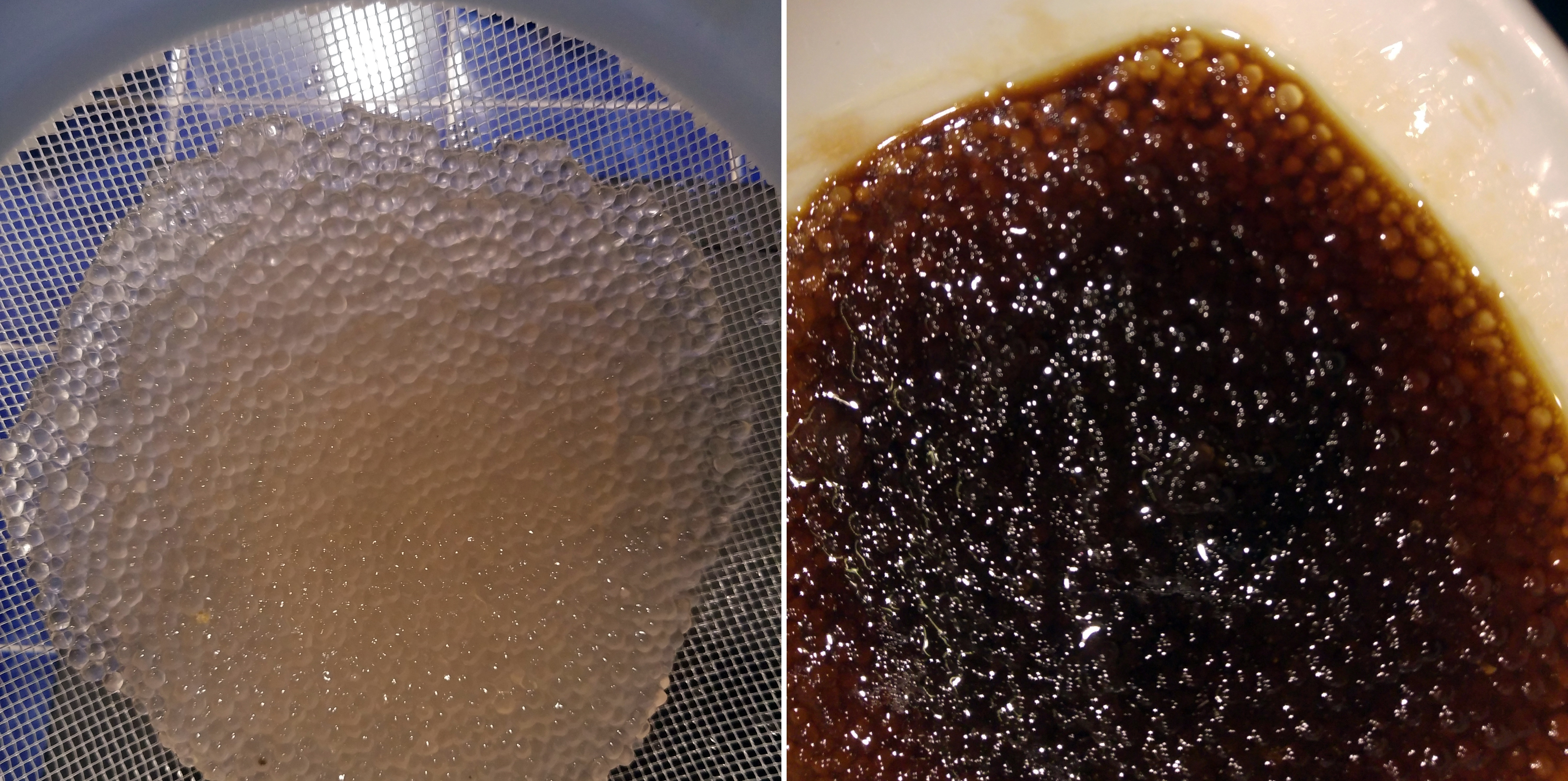 wegański kawior - przepis