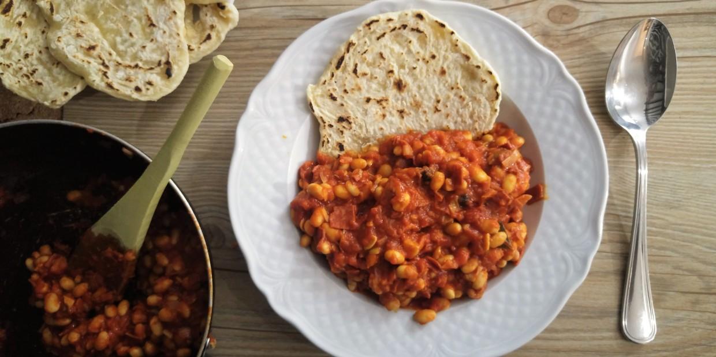 soja po bretońsku - przepis wegański