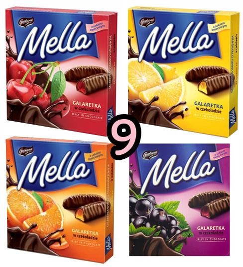 wegańskie galaretki w czekoladzie