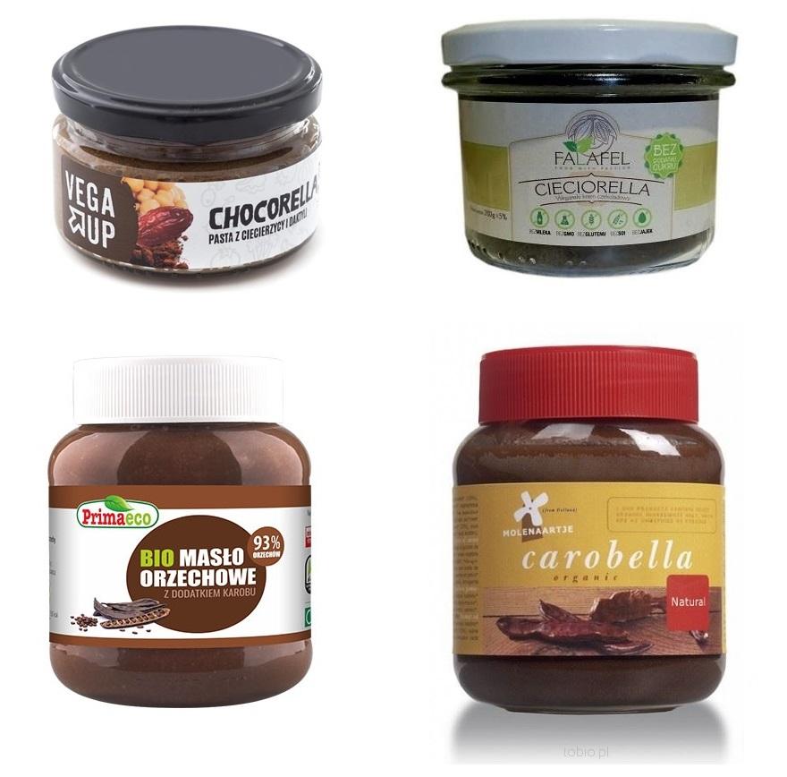wegański krem czekoladowy jak nutella
