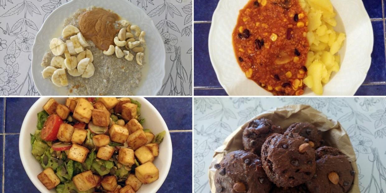 wegański foodbook 2000 kcal