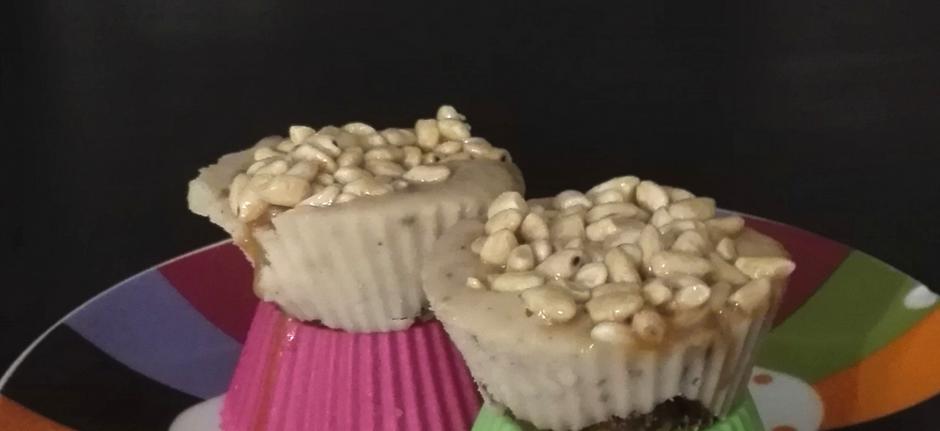 wegańskie krówkowe mini serniczki - przepis