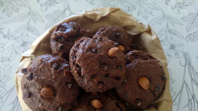 wegańskie czekoladowe muffinki - przepis