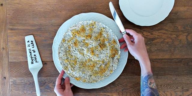 wegańska wielkanoc - sernik cytrynowy