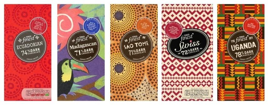 wegańskie czekolady Tesco