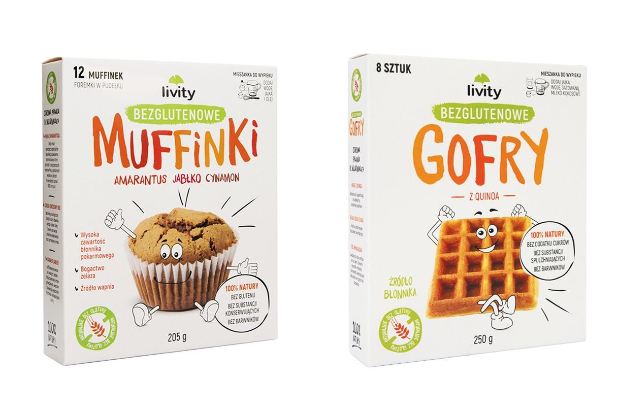 wegańskie bezglutenowe muffiny