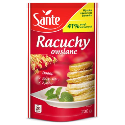 wegańskie racuchy sante