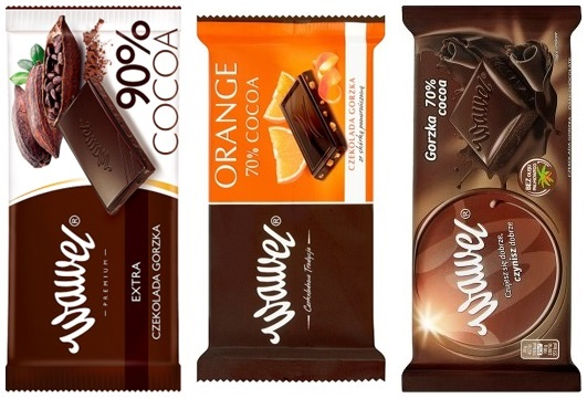 wegańskie czekolady wawel