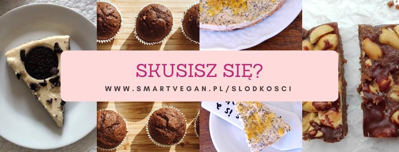 wegańskie przepisy na słodycze